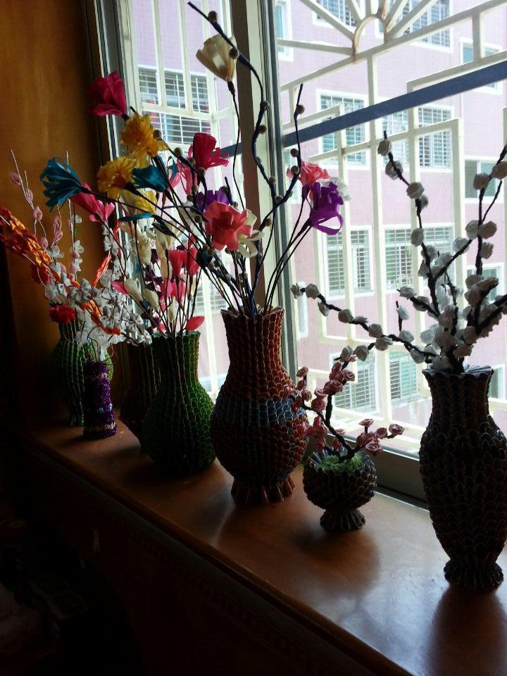 花瓶纸质 手工制作步骤