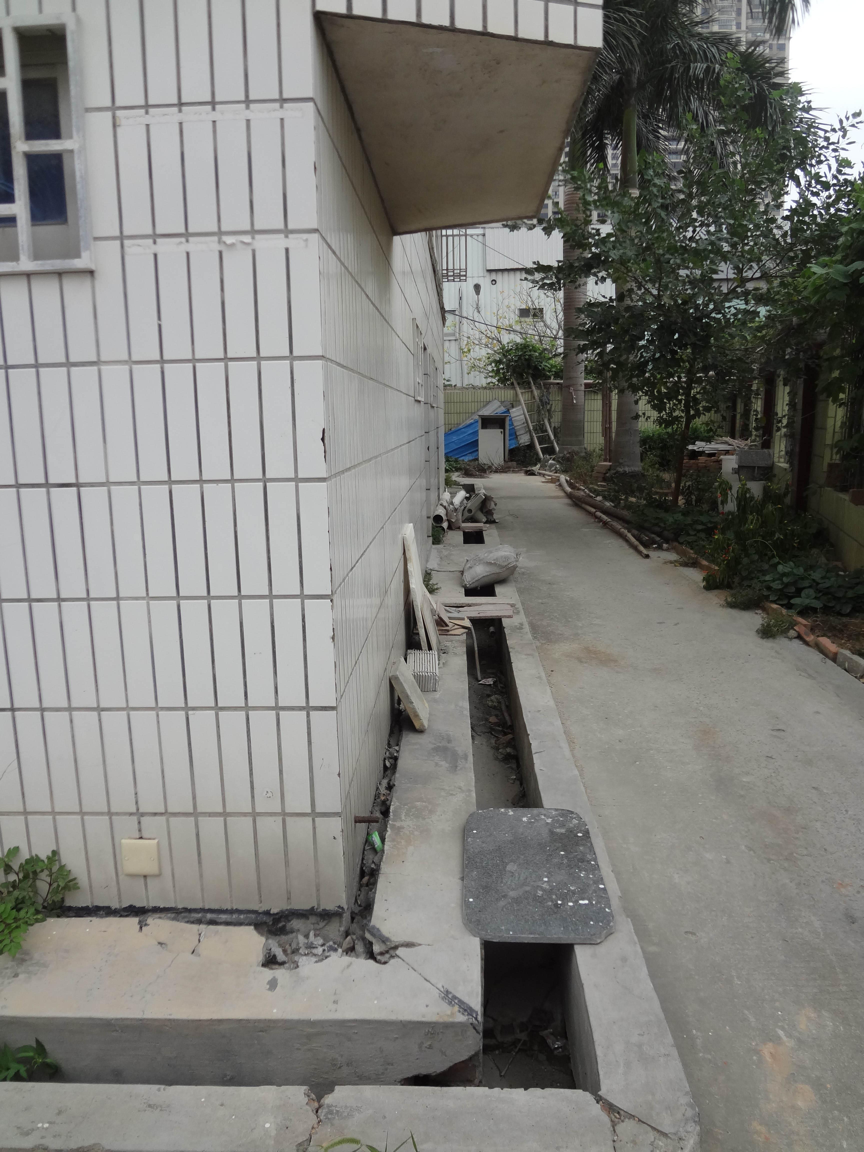 成出租房楼基受损不安全