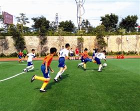 狮日报数字报 小学生校园足球赛决出八强