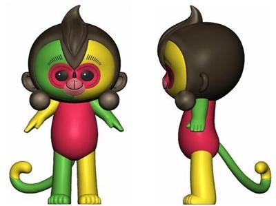 """石狮日报数字报-小猴""""康康""""当选猴年春晚吉祥物"""