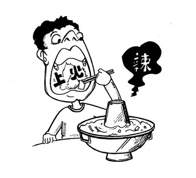 火锅怎么画简笔画