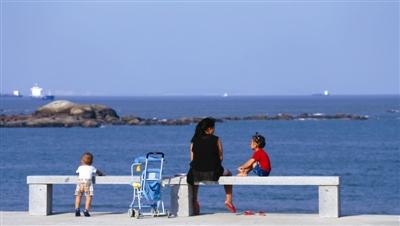 天蓝蓝,海蓝蓝,我家住在大海边,大海给予石狮这座滨海城市无限的