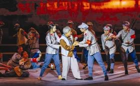 舞台剧在石狮市音乐厅举行首场演出