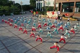 石狮市五支太极拳队伍进入决赛 7月16日正式举行